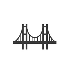bridge icon image vector image