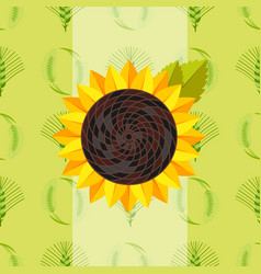Cereal seeds grain product sunflower vector