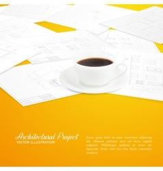 Design architecture vector image