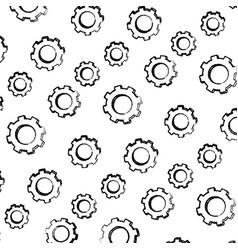 Grunge industry gears engineering technology vector