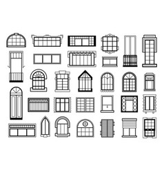set with different vector image