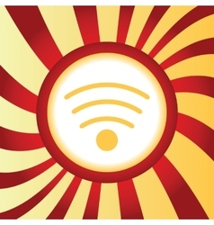 Wi-Fi abstract icon vector