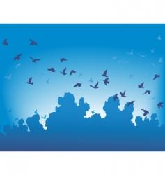 migration vector image vector image