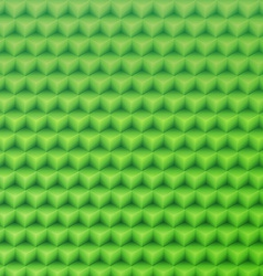 Abstract green geometric shape background made vector