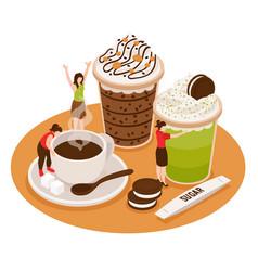 coffee house barista concept vector image