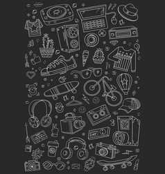 Collage elements vector