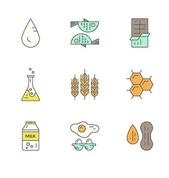 Food Allergens vector