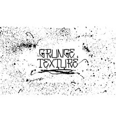 grunge texture - dirty grainy background vector image