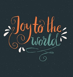 Joy To The World vector