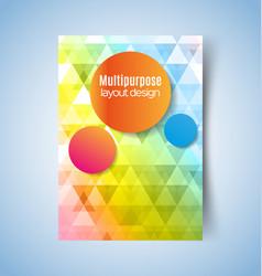 Multipurpose layout design3 pdf vector