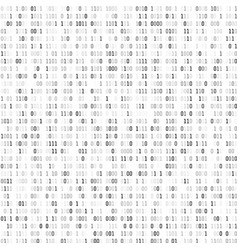 random binary coding technology digital vector image