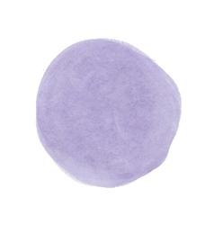 Realistic purple stain watercolor vector