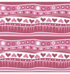 decorative striped wallpaper vector image