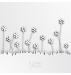 modern 12 may mothers day background vector image vector image