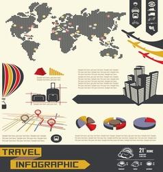 info graphicc telefon social vector image