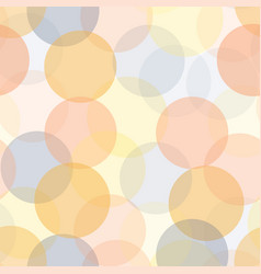 Abstract transparent circles in layers seamless vector