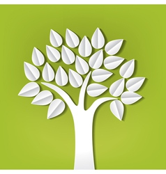 paper trees vector image