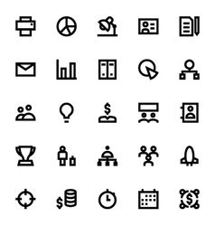 Project Management Icons 2 vector