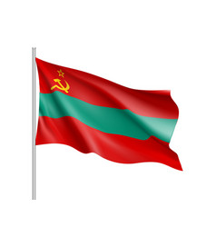 Transnistria national flag vector