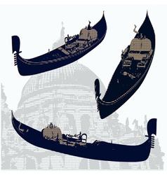 gondolas vector image vector image