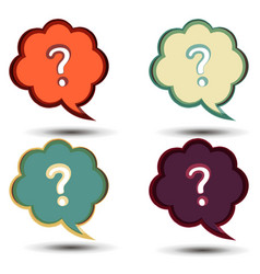 question mark icon symbol sign background concept vector image vector image