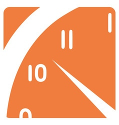 a clock segment vector image vector image
