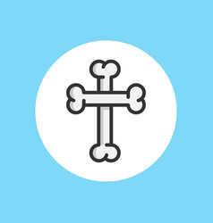 bone icon sign symbol vector image