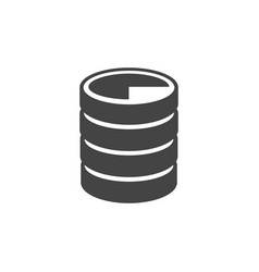 Data base icon image vector