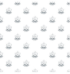 meat house eco pattern seamless vector image