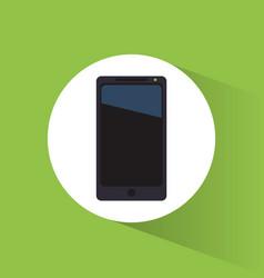 Smartphone marketing tool internet business vector