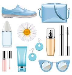 fashion accessories set 3 vector image