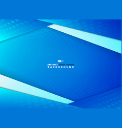 abstract gradient blue sky overlap design vector image