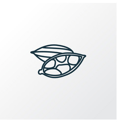 cardamon icon line symbol premium quality vector image