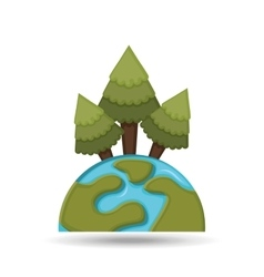 environment globe concept icon graphic vector image