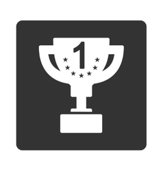 First prize icon from Award Buttons OverColor Set vector image