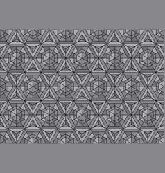 mosaic geometry seamless pattern vector image