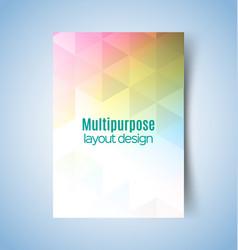 Multipurpose layout design5 vector