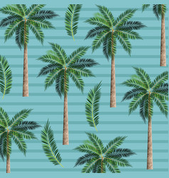 Palms trees background vector