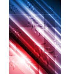 Bright technical background with arrows vector image