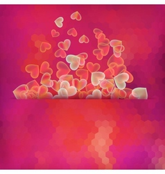 Abstract background with on glowing EPS 10 vector image vector image