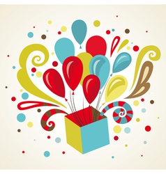 present card vector image vector image