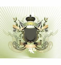 royal vintage illustration vector image