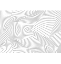 abstract grey 3d lines refraction minimal vector image