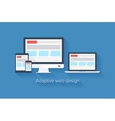 Adaptive web design vector