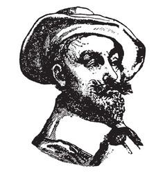 Albrecht wallenstein vintage vector