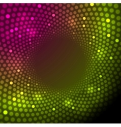 Bright shiny lights abstract background vector