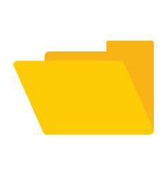 folder document symbol vector image