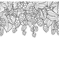 Graphic hop design vector