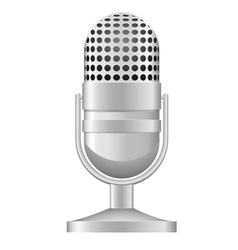 microphone 04 vector image