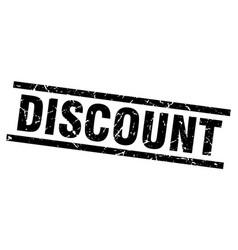 Square grunge black discount stamp vector